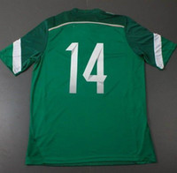 Mexico 2014 World Cup CHICHARITO #14 Green Home Soccer Jersey New ...