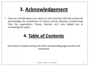 Acknowledgements page of dissertation