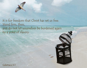 Top 10 Bible Verses on FREEDOM
