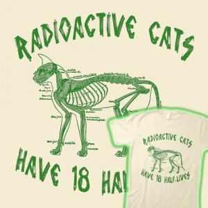 radioactive half life
