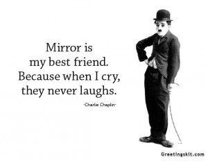 Charlie Chaplin Introspective Wallpaper: Quote By Charlie Chaplin