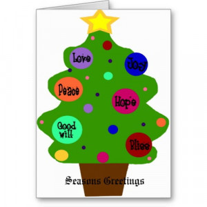 Posts related to christmas tree card sayings