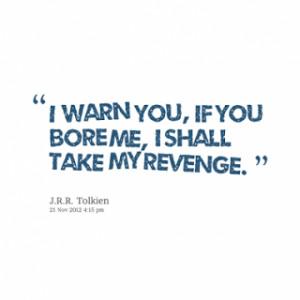 Revenge Quotes | Best Famous Quotations About Revenge