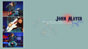 John Mayer wallpaper