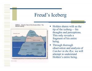 Sigmund Freud Iceberg Theory