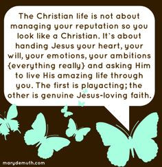 Being a #Jesus follower is an inside-out endeavor, not a #play we # ...