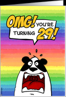 OMG! you're turning 29! card - Product #203207