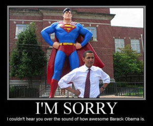 The funniest Obama pictures EVER: Serious-face president parodied in ...