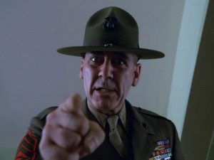 ... marine corps in 1961 ermey was a drill instructor at the marine corps