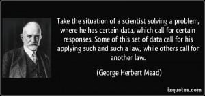 More George Herbert Mead Quotes