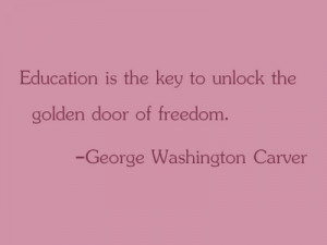 Quote of the Week: George Washington Carver