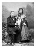 Henry Ward Beecher & Harriet Beecher Stowe, 1885, Poster