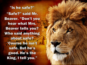 Lion Quotes Strength In the lion, the witch,