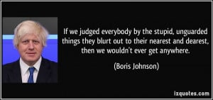 More Boris Johnson Quotes