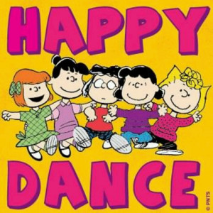 Peanuts Gang Dancing Picture