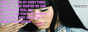 nicki Minaj- Best I Ever Had Lyrics Profile Facebook Covers