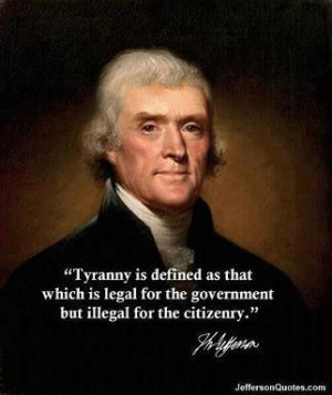 Tyranny is Defined as…