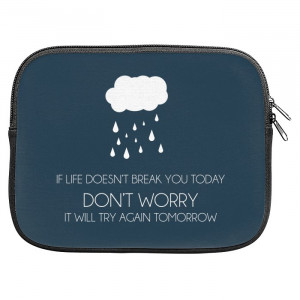 Life Motivational Quotes Zipper Pouch