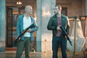 ... as John McClane, Bruce Willis is back in 'A Good Day to Die Hard