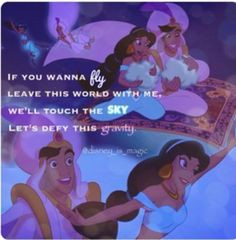 Disney Princess Jasmine Love Quotes Aladdin..love so much!