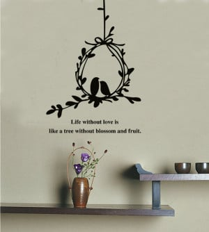 ... Wall-Decals-Stickers-Love-Quotes-Furniture-Living-Room-Decor-Mural-Art