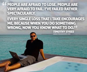 Timothy Sykes Bora Bora Inspirational Picture Quote