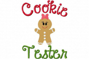 Christmas Embroidery Design Christmas Cookie by sosassyembroidery, $2 ...