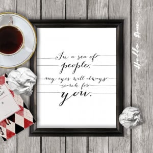 Print Printable Love Quote