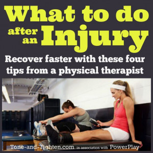 How you rehab an injured area can make all the difference in your ...