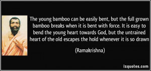 More Ramakrishna Quotes