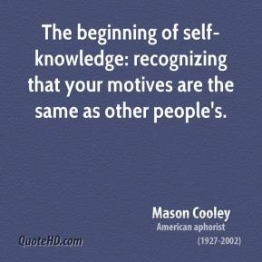 Self-Knowledge Quotes