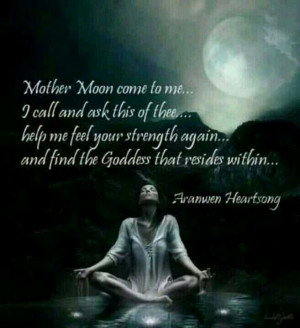 Wiccan Rituals for Full Moon | Full moon chant