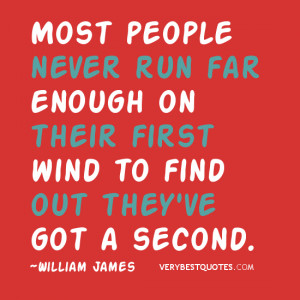 Chance quotes, motivational quotes, most people never run