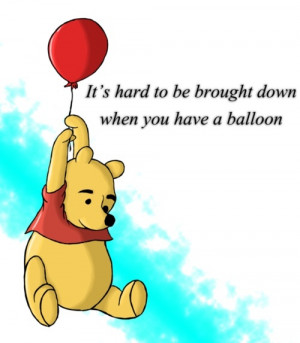 Winnie the Pooh Party - Hand out a red balloon as a parting gift at ...