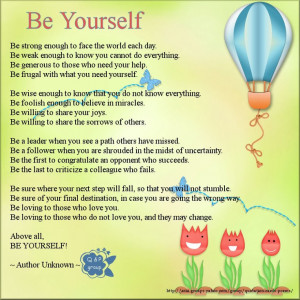 Inspirational #quotes: be yourself