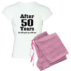50th Anniversary Funny Quote Women's Light Pajamas