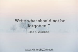 In Their Words – Isabel Allende - Quote - Author In Their Words