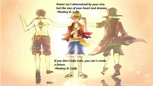One Piece Quotes by 2494Paul