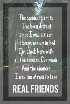 Real Friends Lyrics