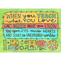 ... gift teaching quotes teaching ideas heart art education quotes random