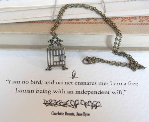 jane eyre birdcage necklace by literary emporium | notonthehighstreet ...