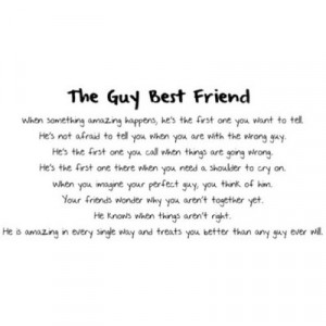 Guy Best Friend Quote | via Tumblr | We Heart It
