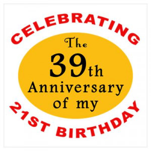CafePress > Wall Art > Posters > Celebrating 60th Birthday Poster