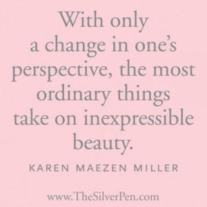 Perspective – Karen Maezen Miller
