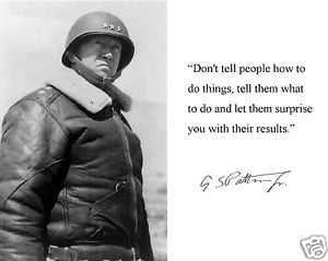 ... George-S-Patton-Autograph-World-War-2-II-Quote-8-x-10-Photo-Picture-b2