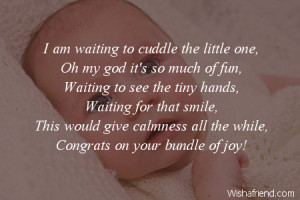 Mom And Baby Hands With Quotes New baby congratulations