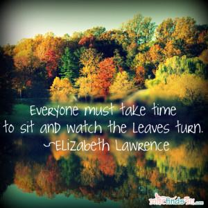 Fall Season Quotes