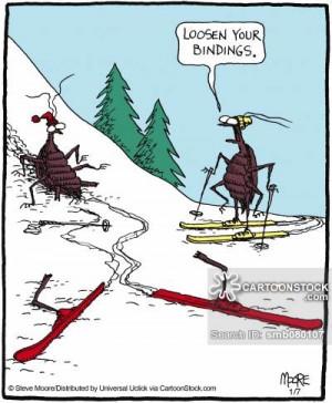 skiing accident cartoons, skiing accident cartoon, funny, skiing ...