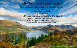 All Things Are Connected - Native American Poem