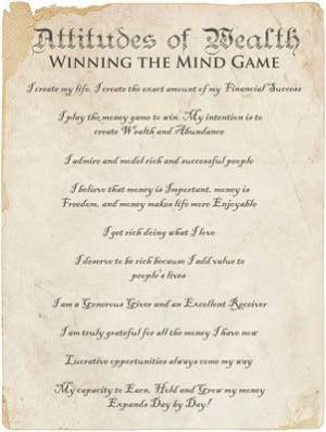 Winning the mind game.